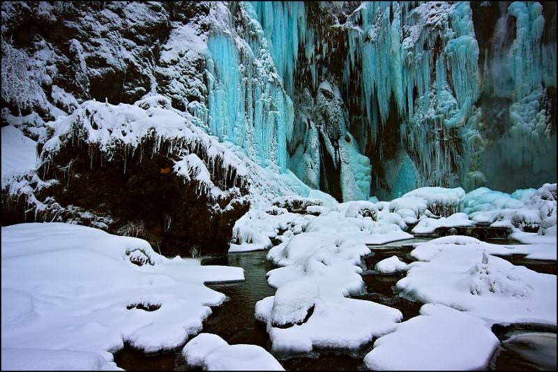Плитвицкие озера зимой-10