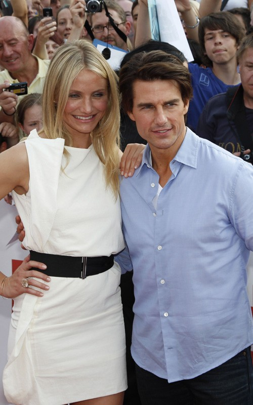 tom cruise body measurements. Tom Cruise and Cameron Diaz