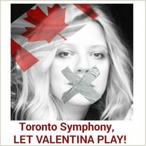 Toronto Symphony, Let Valentina Play