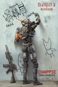 Робот по имени Чаппи (Chappie) — постер