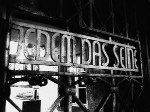 Ворота концлагеря Бухенвальд