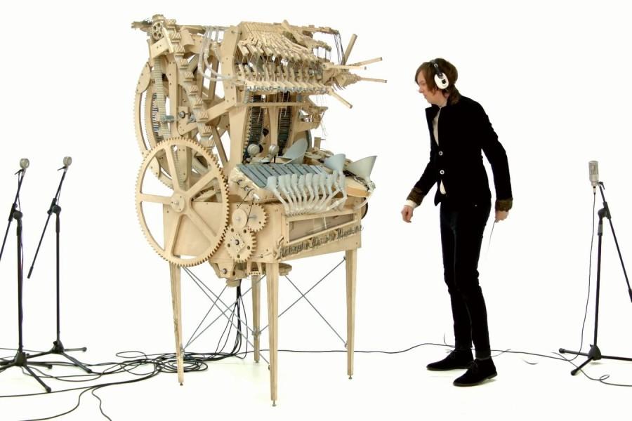 Музыкальный автомат-шарикоподъёмник «Млечный путь»