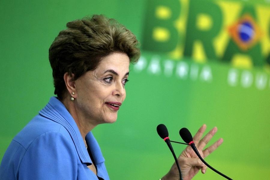 Дилма Руссефф, президент Бразилии
