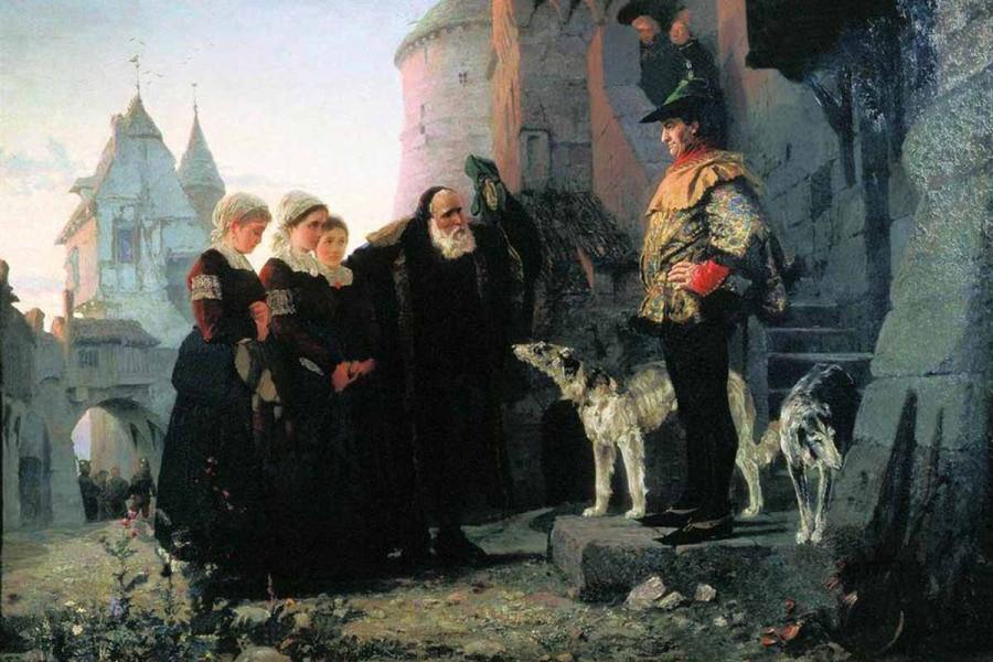 Василий Поленов, «Право господина»