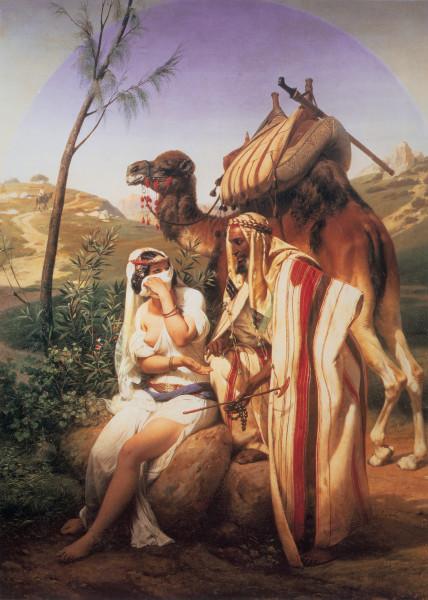 Эмиль Верне, «Иуда и Фамарь»