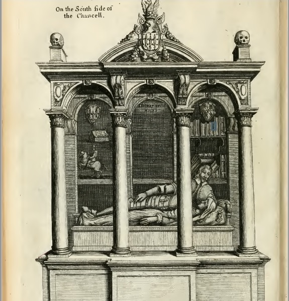 Thomas Lucy III engraving