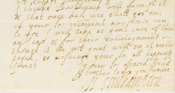 southampton handwriting 2