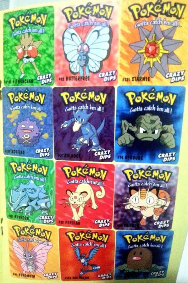 Crazy Dips - Pokemon Stickers