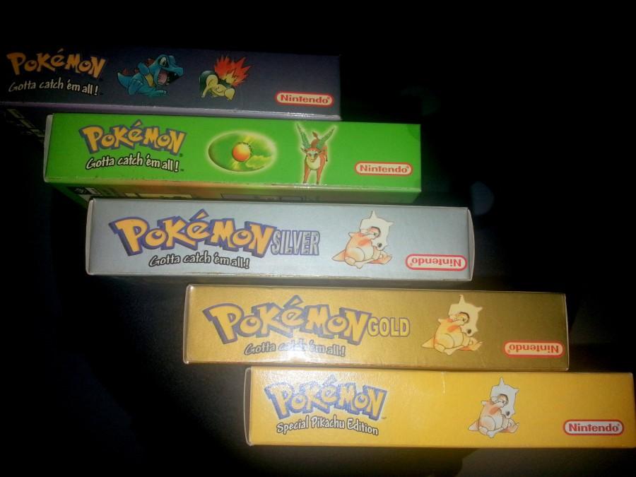 Pokemon Gameboy Cartridges