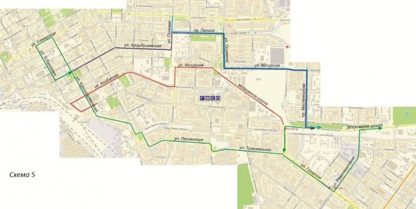 Маршрут автобуса 21 на карте Екатеринбурга