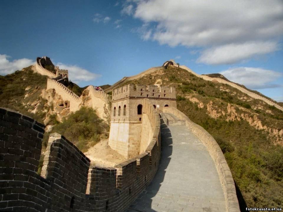 Великую китайскую стену строили… не китайцы