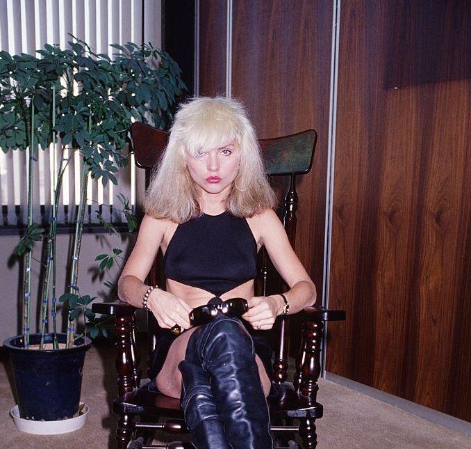 Debbie Harry in Tokyo, 1978