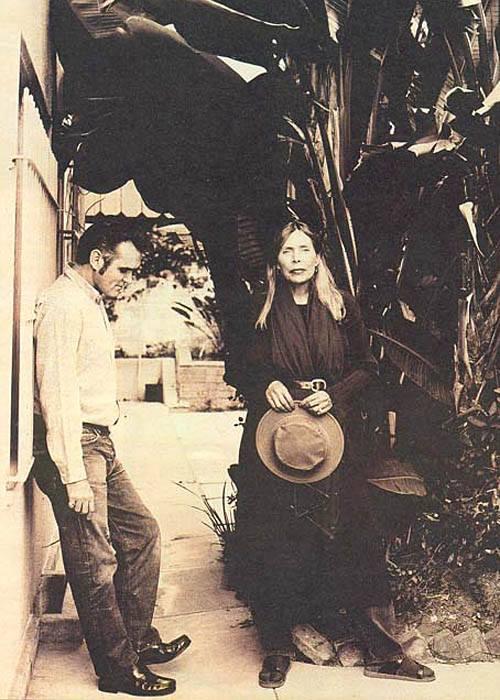 Morrissey & Joni Mitchell.