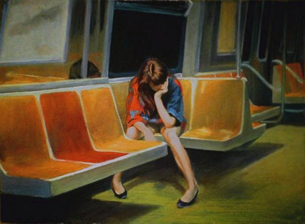 "Q Train"" Nigel Van Wieck (1990)"