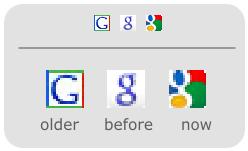 Эволюция иконок Гугла