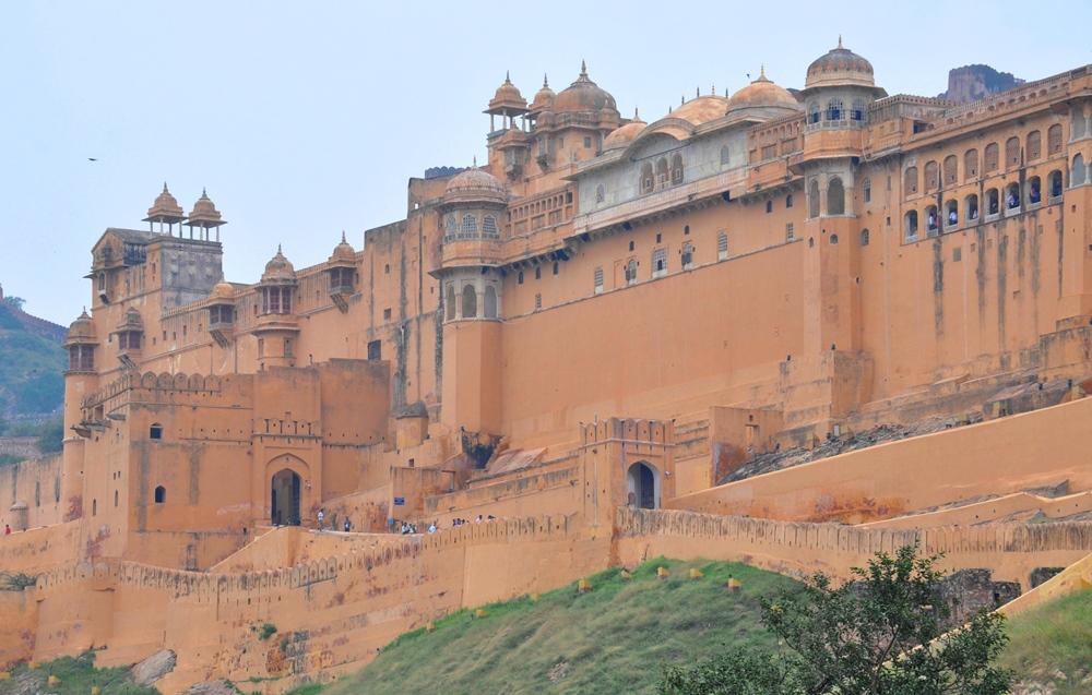 Джайпур. Форт Амбер (Индия)