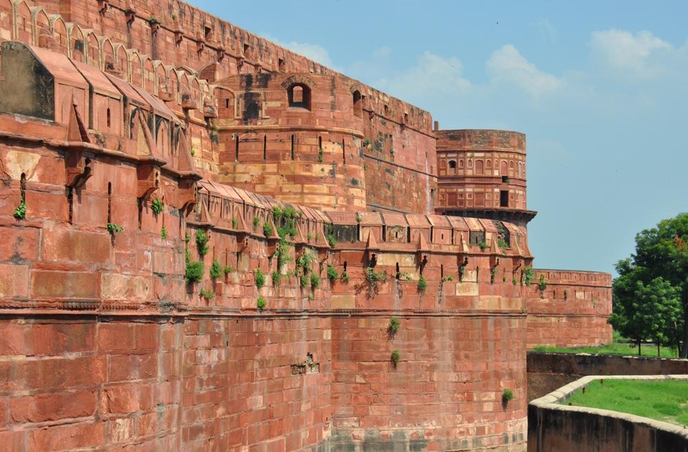 Крепость Агры. Путешествие в Красный форт под строки Конан-Дойля (Агра, Индия)