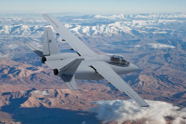 Легкий штурмовик Scorpion выполнил первый полет