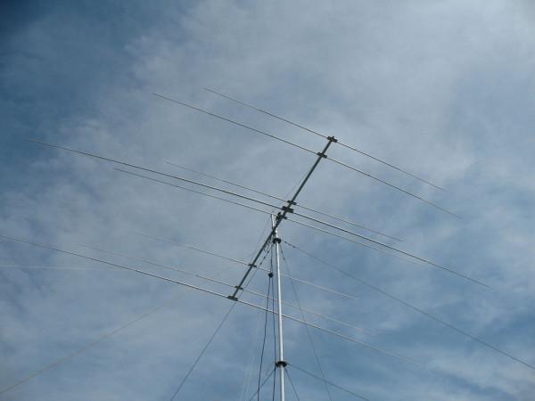 UY6IM 2-3-3 антенна