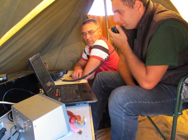 UT7HA, UW7LL работают в Карпатских далях