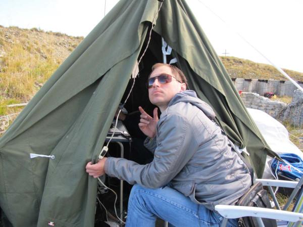 Сергей сообщает данные о положении антенны ;)