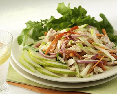 salad_mediterranean pear tuna salad