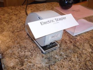 Staplex Electric Stapler