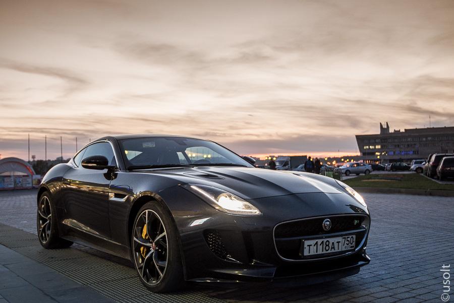 Тест-драйв Jaguar F-type: машина-кошка, машина-культурист ...