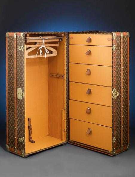 Как заказать чемоданы - сундуки от луи витон чемоданы на колесах италия бренды распродажа