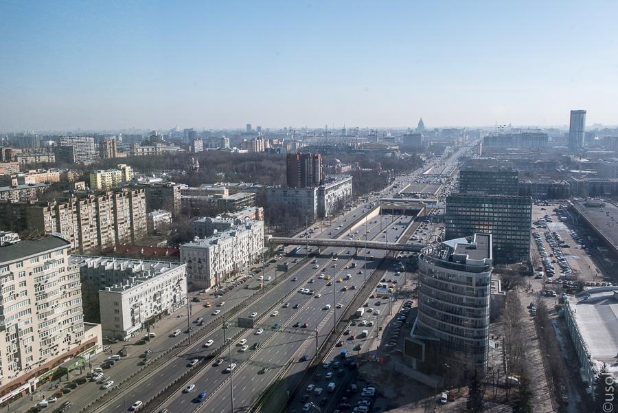 Ленинградка без пробок и с высоты (фото)