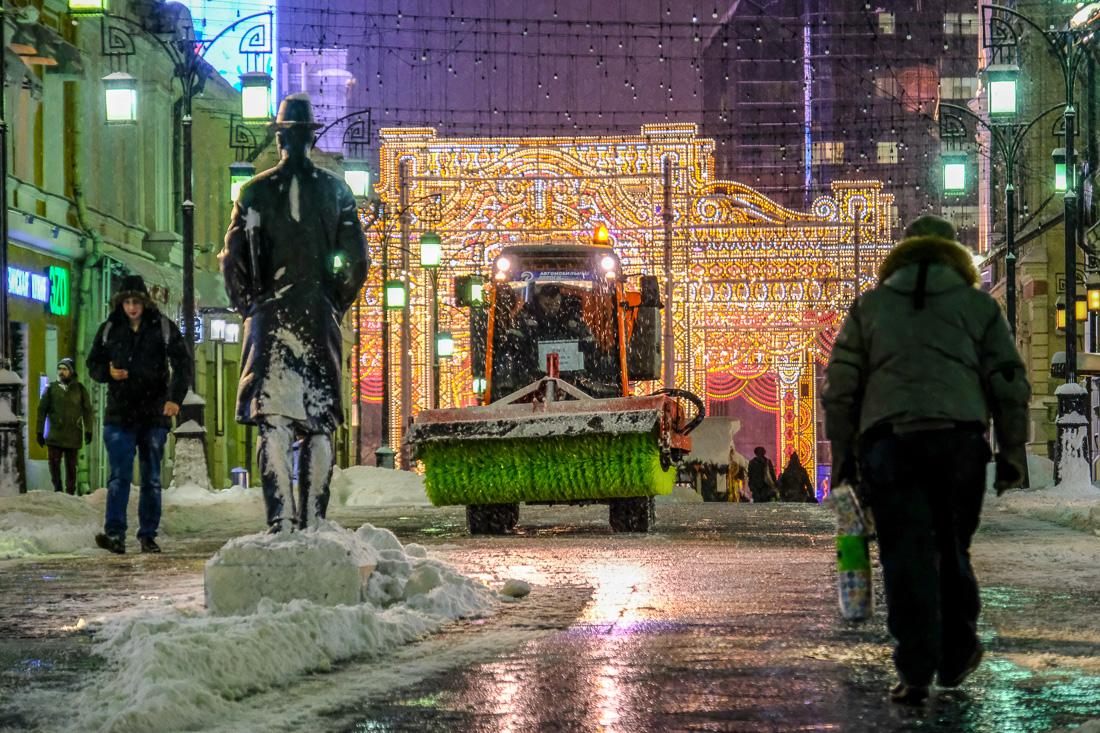 Вечерняя Москва: сутки после Снежногеддона
