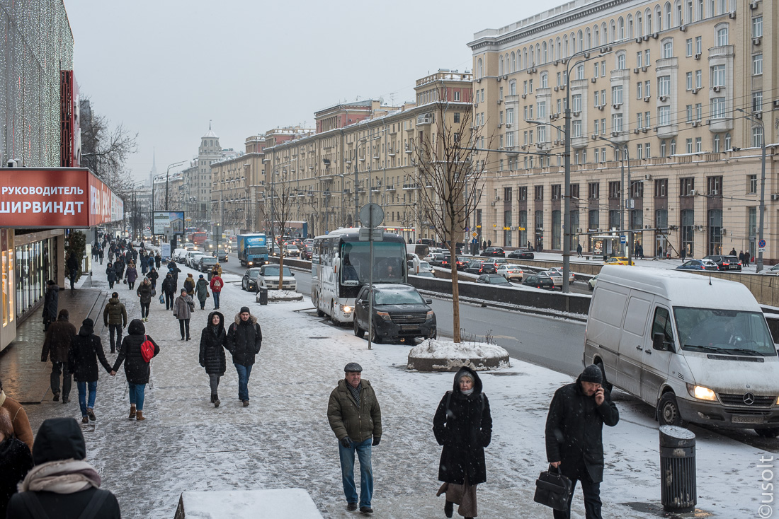 Много ли снега осталось в Москве?!