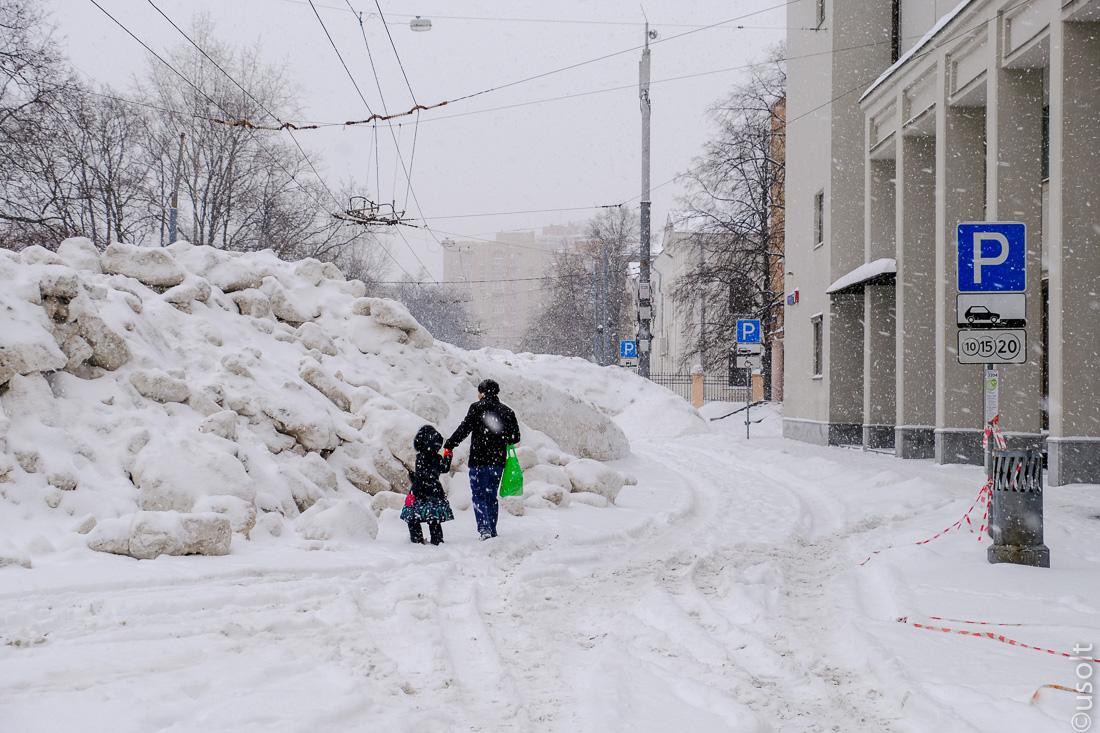 Где в Москве реальный Снежногеддон