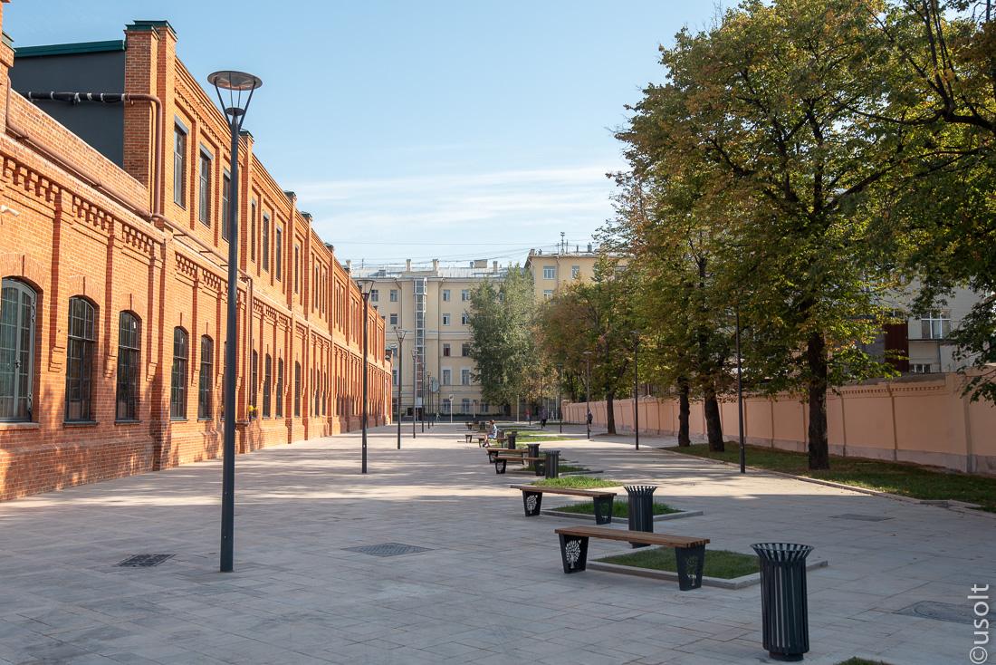 Лесная и Кадаши: старые районы города по-новому