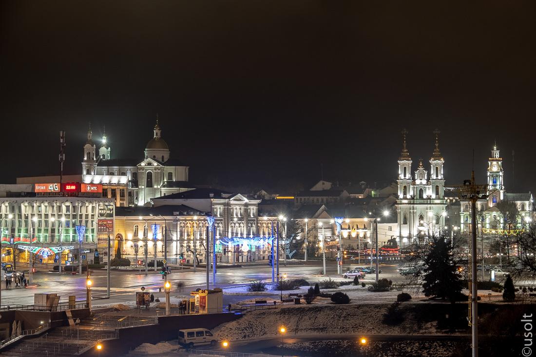 Волшебный ночной Витебск: Шагал и было-стало