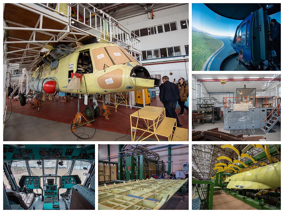 Как делают вертолёты для России
