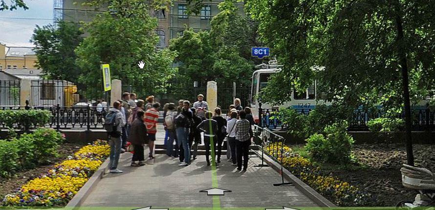 2014-03-11 13_07_12-Россия, Москва, Чистопрудный бульвар — Яндекс.Карты