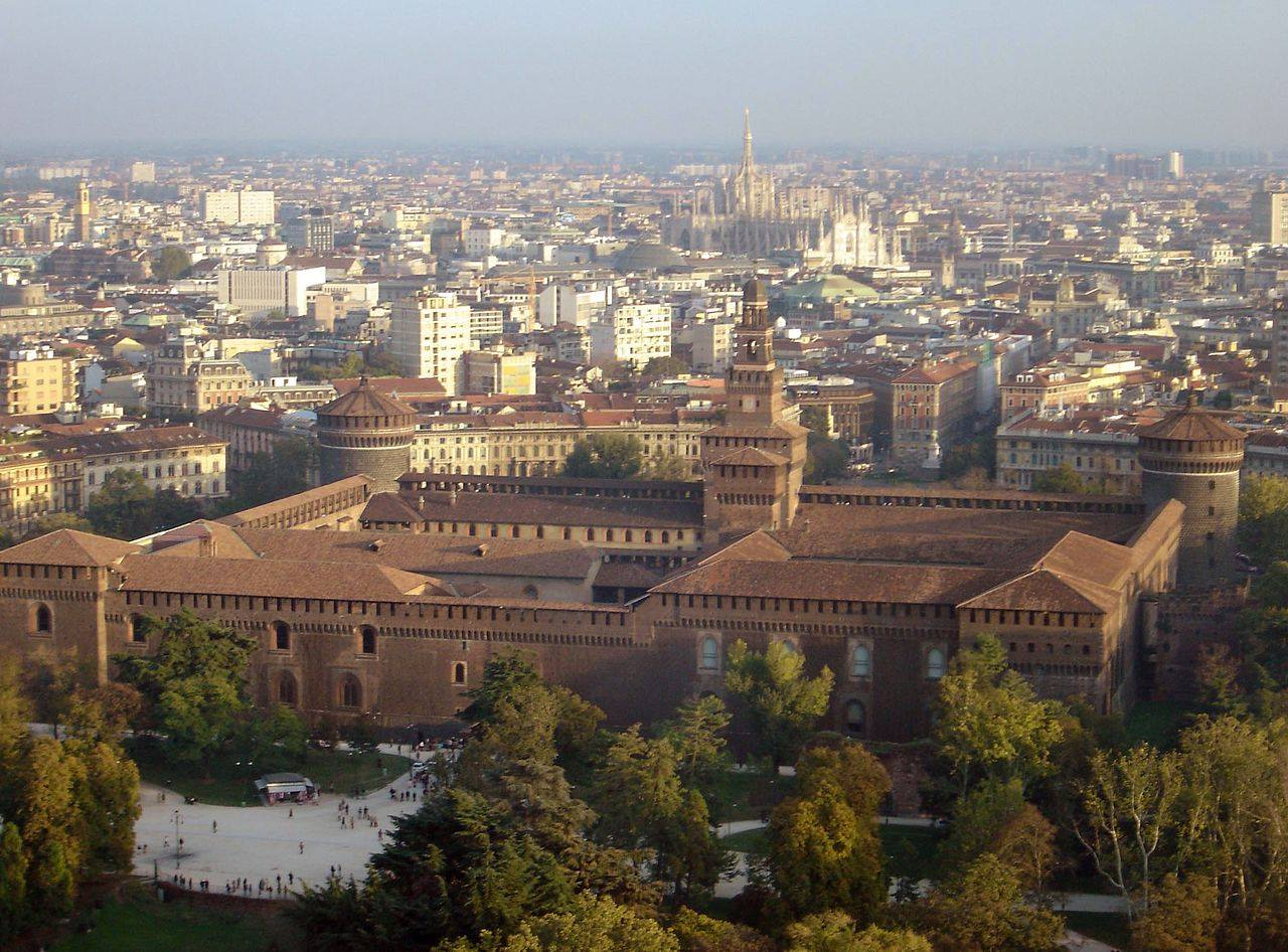 9) Замок Сфорца, Милан