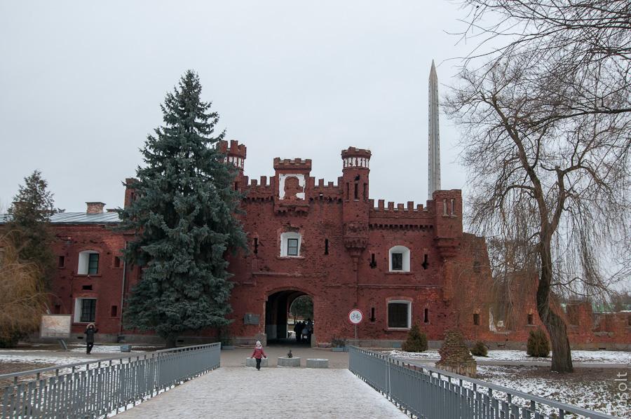 Неожиданная Брестская крепость