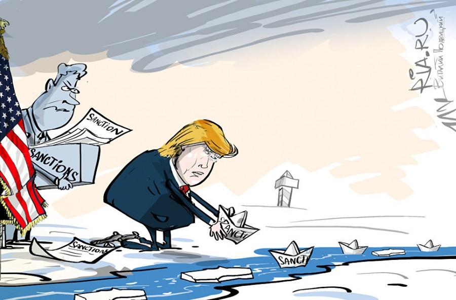 США ввели очередные санкции против РФ