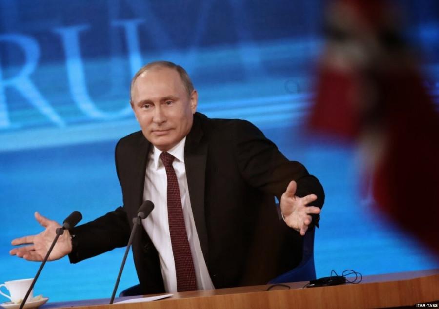 Любыми способами оболгать Путина