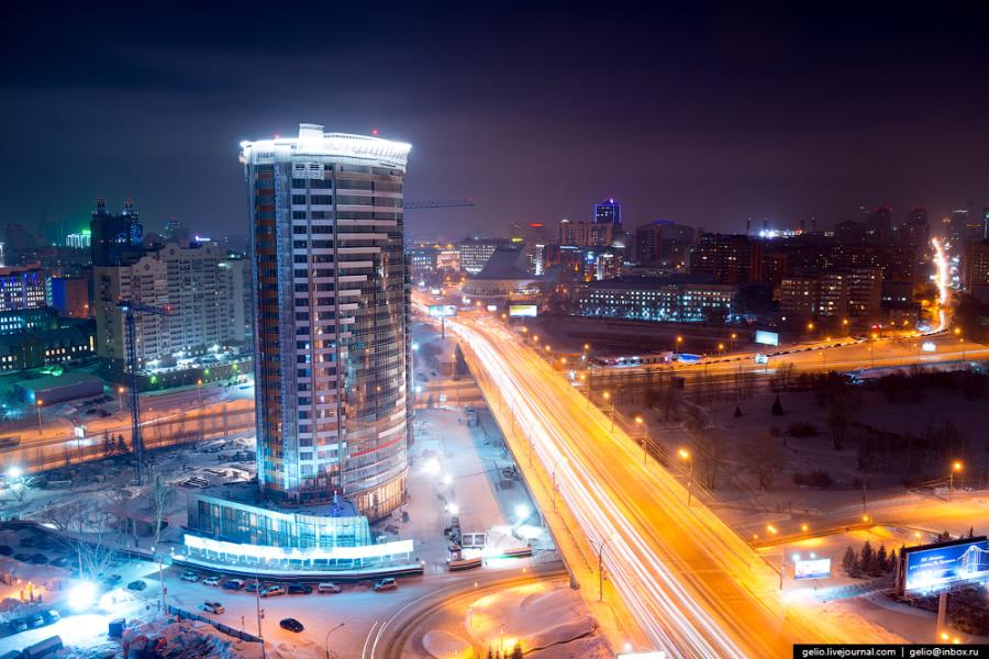 Новосибирск - символ разорванной России в клочья ...