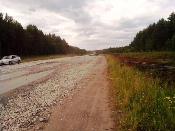 Дорога в Новодвинск