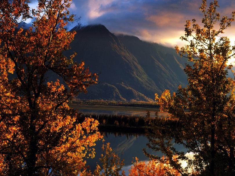 Pioneer Peak, Matanuska Valley, Alaska