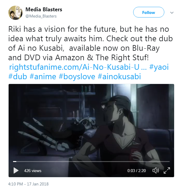 Just a blondie today media blasters uploaded a new english dub clip for ai no kusabi on their twitter in order to help promote the release fandeluxe Gallery