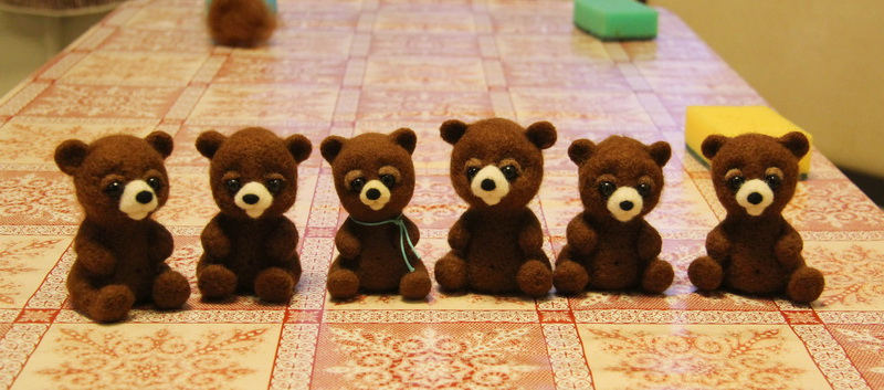 медведики.
