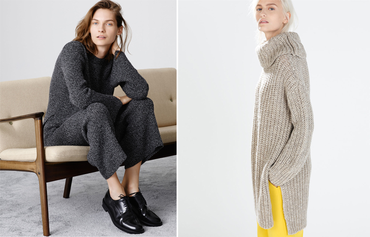 zara turtlenecks