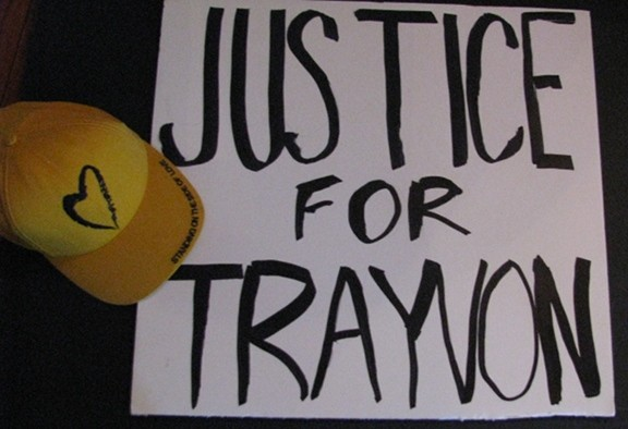 Trayvon sign