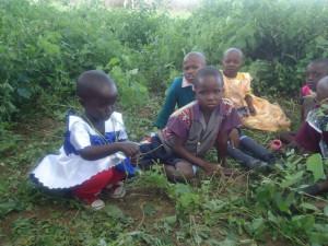 Children at UU Congregation in Kenya