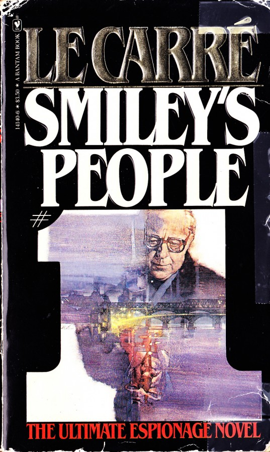 cover to John le Carre's Smiley's People